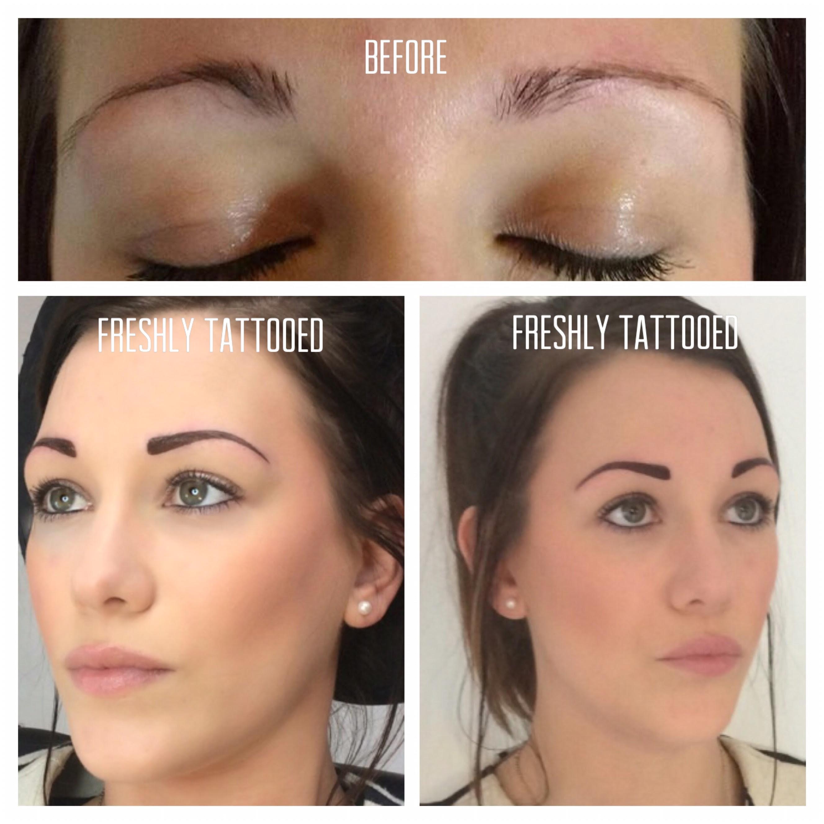 Cornwall Permanent Makeup Client 1